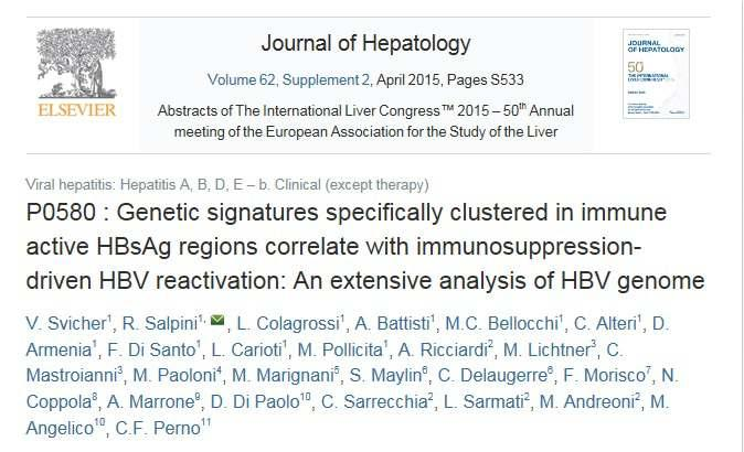 HBV reactivation occurs in a wide variety of HBV serological