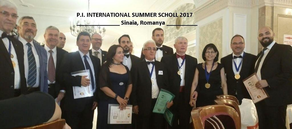 P.I. INTERNATIONAL SUMMER SCHOOL 13th EDITION Between the dates of July 6th-9th, 2017, International Private Investigators Summer School 13th Edition was held in Sinaia, Romania; with the