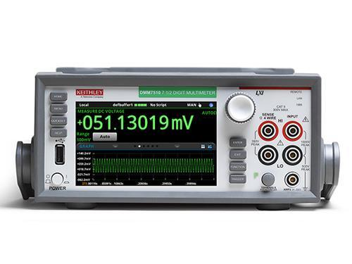 the Keithley DMM7510 multimeter.
