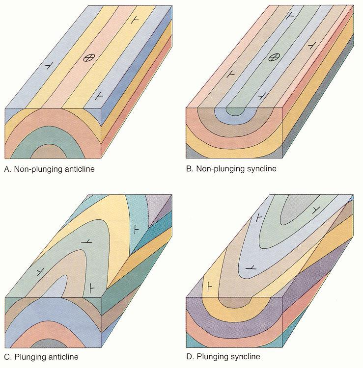 Anticlines and