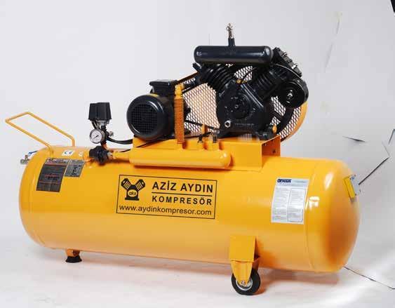 DOUBLE STAGE RECIPROCATING AIR COMPRESSORS AYKO 90 AYKO 90 AYKO 65-14