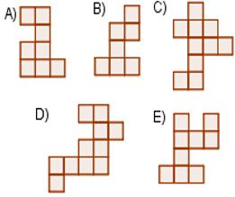 Which of the following does not fit into the shape above?