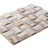 Naturel Royal Product Code B-0051 Stone Size 10x20 cm 3.94 x 7.8 Panama * 10x20 cm Product Code B-0052 Stone Size 3.94 x3.94 3.94 x 7.8 Travertine Product Code B-0057 Stone Size 3.