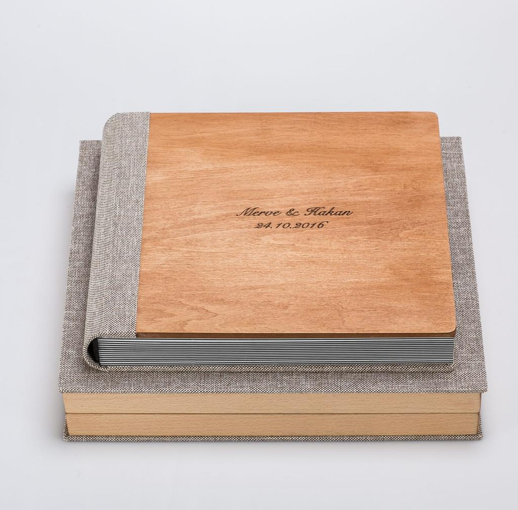 AHŞAP ALBÜMLER / WOOD ALBUM S / HECTOR 5 The classic wooden album has