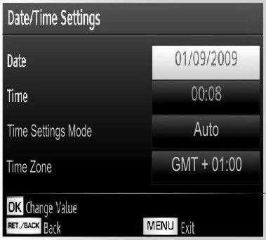 Editing a Timer Select the timer you want to edit by pressing or button. Press GREEN button. Edit Timer menu screen will be displayed. When fi nished with editing, press GREEN button to save.