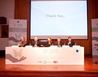 The fifth International Conference on Managing Intellectual Property in Universities was hosted by Boğaziçi University on October 15-16, 2015.