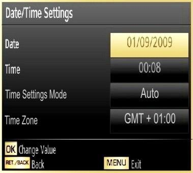Editing a Timer Select the timer you want to edit by pressing or button. Press GREEN button. Edit Timer menu screen will be displayed. When finished with editing, press GREEN button to save.