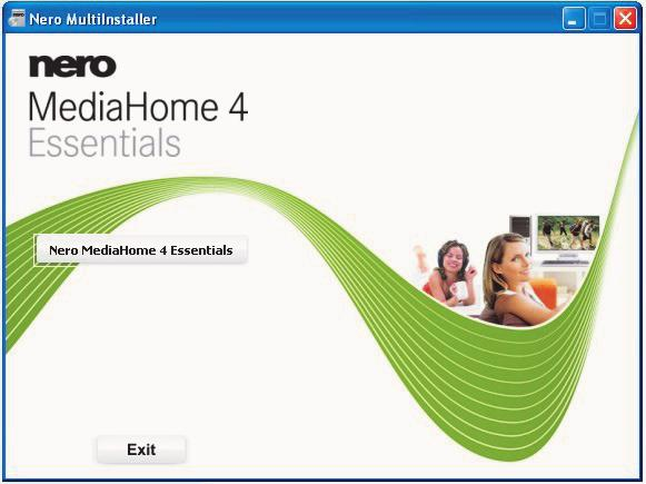 Appendix: Nero MediaHome Installation This software is compatible with Windows XP and Windows 7.