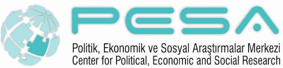 October / Ekim 2015, Volume / Cilt:1, Issue / Sayı:2 PESA International Journal of Social Studies PESA ULUSLARARASI SOSYAL