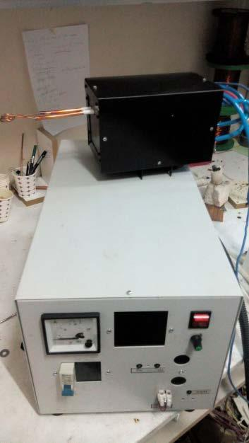 CODE NUMBER ONX15 : 8KW 100-700 KHZ INDUCTION HEAT MACHINE FOR