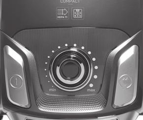 USING YOUR APPLIANCE WARNING: Before operating your vacuum cleaner make sure that the filters, dust reservoir or the dust bag is placed in its place.