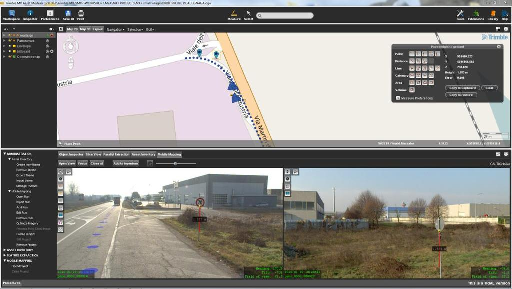 Trimble MX Varlık