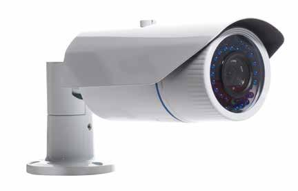 ANP12-AR4042ZPS IR LED Motorize Lens IP Kamera Genel Özellikler 2.8-12mm Motorize Lens 42 Taiwan High Power LED 4.0MP Çözünürlük 1/2.