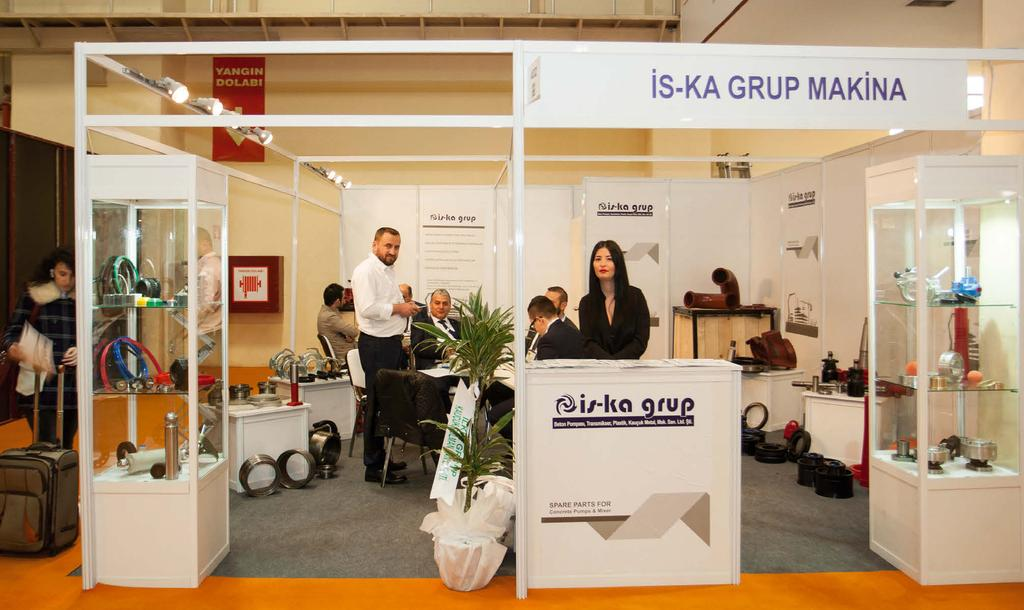 İS-KA GRUP PLASTİK KAUÇUK METAL MAKİNA SAN. TİC. LTD.