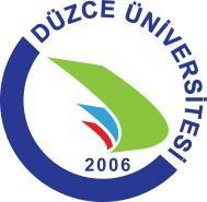 EK- DUZCE UNIVERSITY GRADUATE SCHOOL COURSE INFORMATION FORM INSTITUTE/FACULTY/SCHOOL and PROGRAMME: COURSE INFORMATION Name Code Medium of Instruction Type Required/ Optional Semester T+P Hour Local