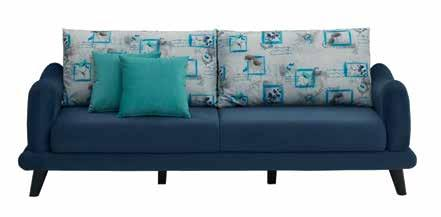 Koltuk Single Seat Sofa W:75 D:83 H:95