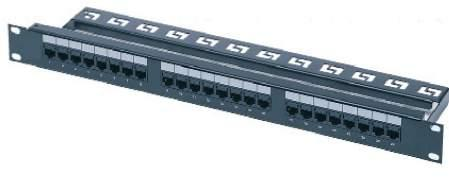 Bakır Sonlandırma Panelleri Data & Lan Kablo Aksesuarları CAT 6e UTP RJ-45 Bakır Sonlandırma Panelleri Kullanım Yeri 1000BASE-TX Gigabit Ethernet Over Category 6 (TIA/EIA-854-2001) 1000BASE-T Gigabit