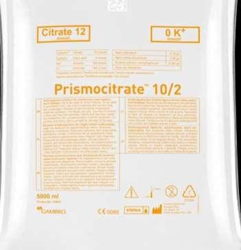 %4 Tri-Na citrate ACD-A Prism0citrate Sitrat mmol/l