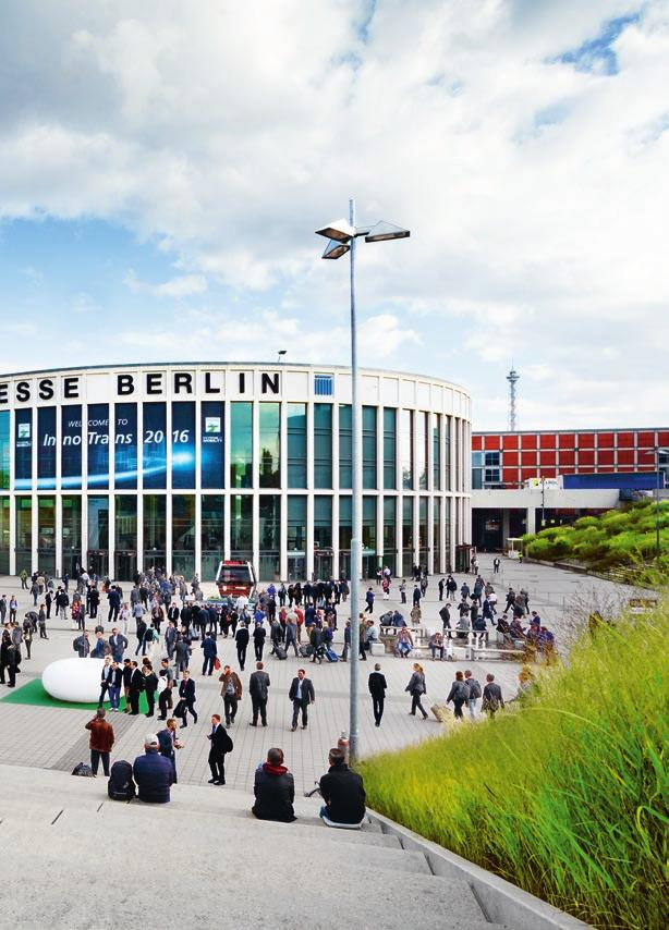 InnoTrans 2018 Industry meeting place for future growth The world is growing together and InnoTrans is growing along with it.