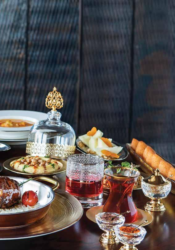 THIS month AT RAFFLES Iftar Buffet at Raffles Istanbul Raffles Istanbul offers a traditional Iftar buffet accompanied by live Fasıl music at Rocca; where