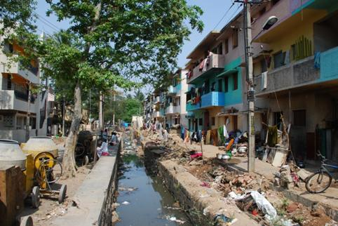 Slums in Bangalore have an average of 11 trees per hectare, versus 28 trees per hectare in other residential areas.