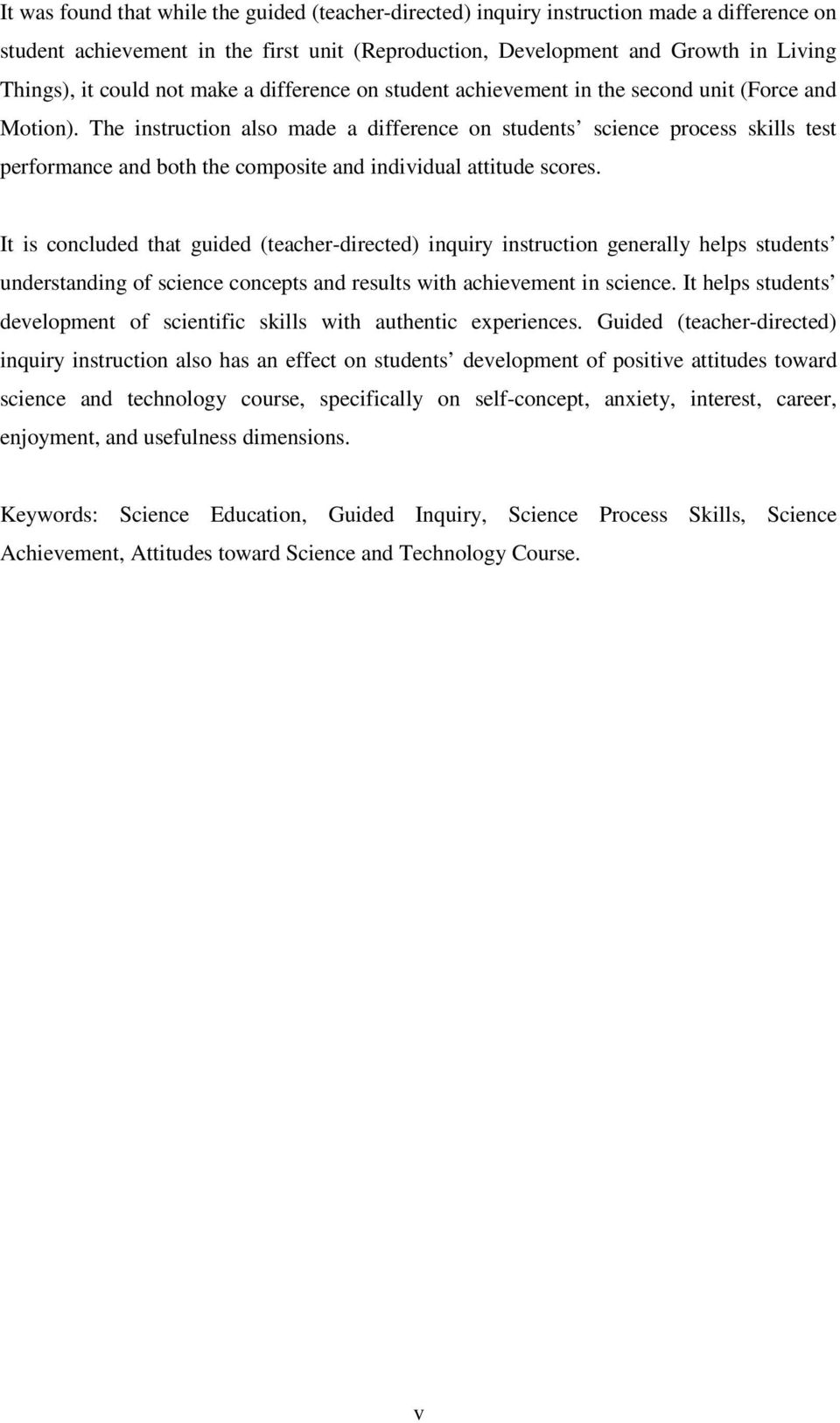 The Acquisition Of Science Process Skills Through Guided Teacher