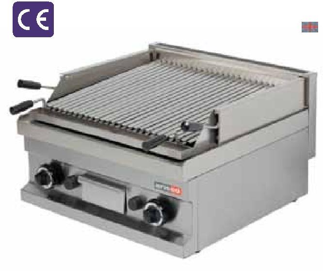 GGL604 400x600x265 29 0,11 4800 748 LAVA CHAR GRILL Gas Lavastone Body panelling made of stainless steel. LPG and natural gas heated.