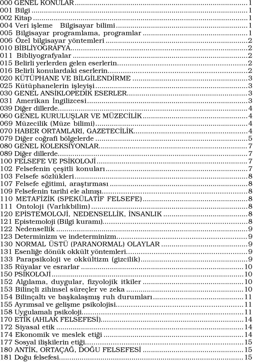 Issn Bubluyografyasi Turkish National Bibliography 2009 7 T C K