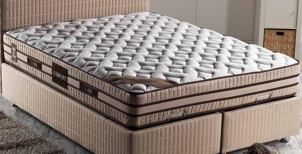 Eco Pouf 56 Optimal Brown Yastiklar Verona Bed Set Alis Pouf