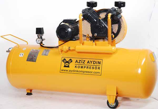 AYKO 65 AYKO 600 TEK KADEMELİ KOMPRESÖRLER SINGLE STAGE RECIPROCATING AIR COMPRESSORS AZİZ AYDIN KOMPRESÖR Aziz Aydın kompresör ;0 yılı aşkın kompresör