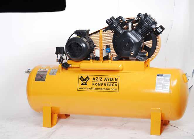 TEK KADEMELİ KOMPRESÖRLER SINGLE STAGE RECIPROCATING AIR COMPRESSORS