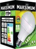 8 Watt Maximum Led